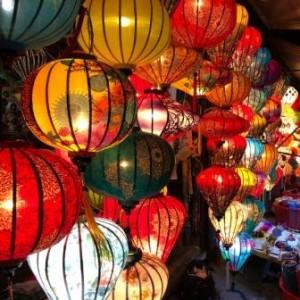palm garden beach resort hoi an lantern