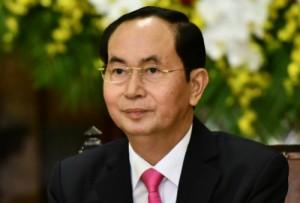palm garden beach resort hoi an tran dai quang president